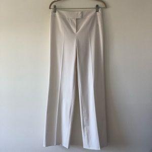 ESCADA white high waisted dress pants. Size 4
